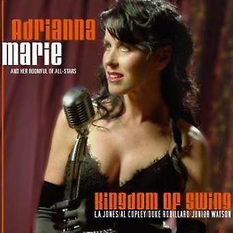 Adrianna Marie - Kongerige af Swing [CD] USA import