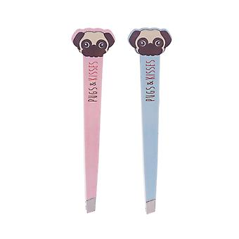 Attitude Clothing Pugs & Kisses Tweezers