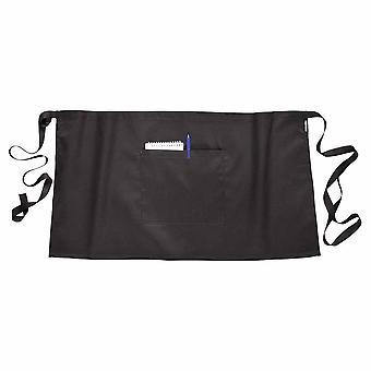Portwest - robuste Arbeitskleidung praktische kurze Bar Taille Schürze mit Tasche