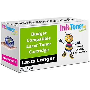 Hp 504a Magenta Toner Cartridge (ce253a) (Budget)