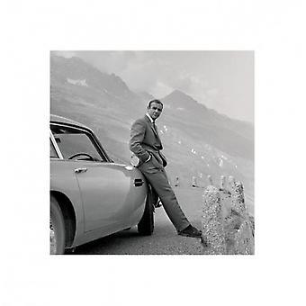 James Bond - Aston Martin plakat Poster Print