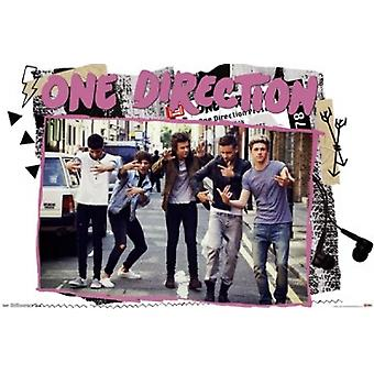One Direction 1D - Street Poster Poster Print