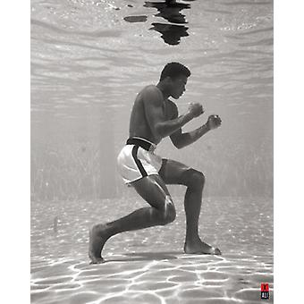 Muhammad Ali - Underwater Poster Poster Print