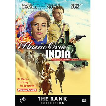 Flame Over India (Aka the North West Frontier) [DVD] USA import