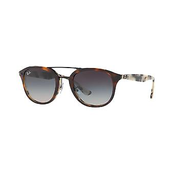 Ray - Ban RB2183 Brown/Shell Beige gradient gray scale