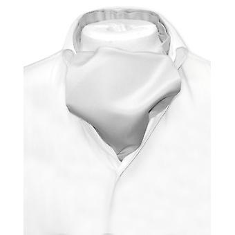 Vesuvio Napoli ASCOT Solid Cravat Men's Neck Tie