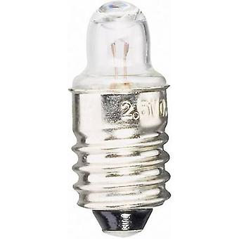 Torches replacement bulb 2.2 V 0.4 W Base=E10 Cle