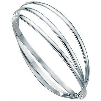 Beginnings Russian Wedding Bangle - Silver