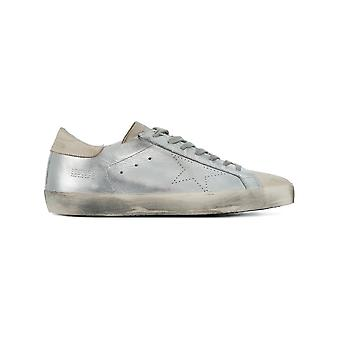 Golden Goose men's G32MS590E68 silver leather of sneakers
