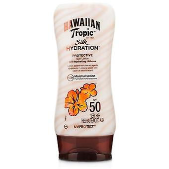 Hawaiian Tropic Protector Ht Sun Silk Lotion SPF 50