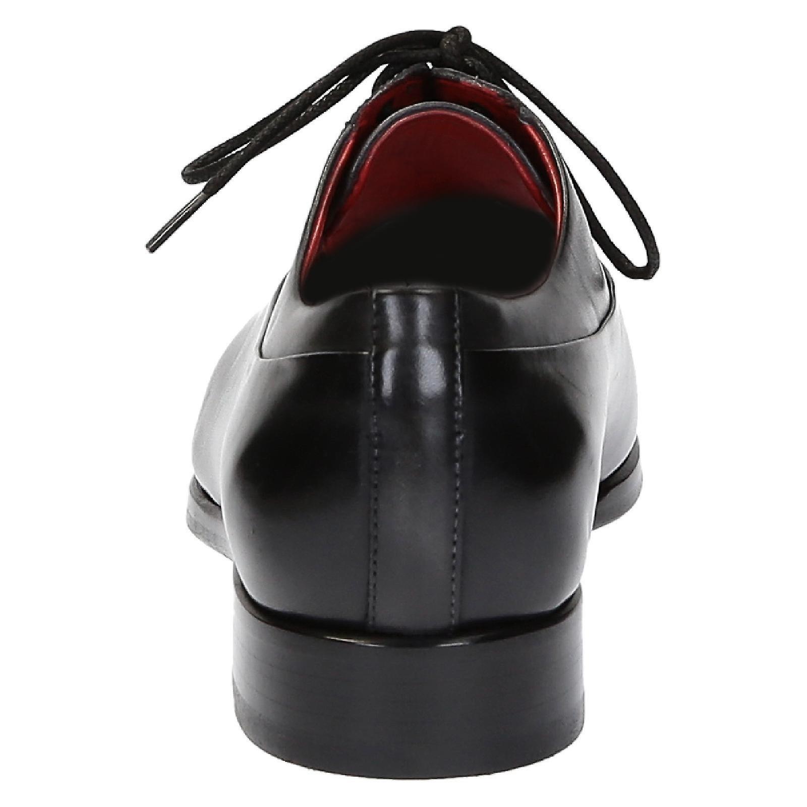 A halfbrogues oxfords scarpe in pelle pelle pelle nera | Nuova voce  5d8851