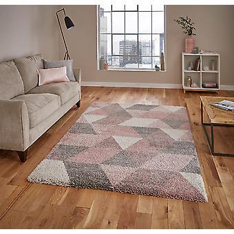 Koninklijke nomadische 7611 Rose Cream rechthoek tapijten Plain/bijna gewoon tapijten