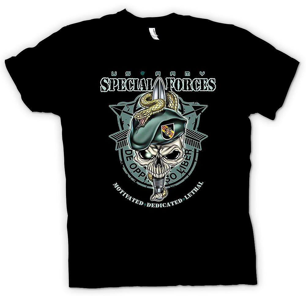 Womens T-shirt - Special Forces - De Oppresso Liber