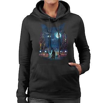 Blade Runner Replicant Owl Women's Hooded Sweatshirt