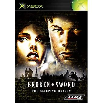 Broken Sword sovande draken (Xbox)