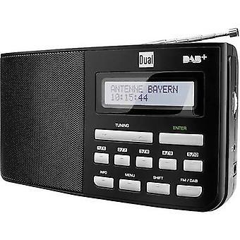 Dual DAB 5.1 DAB + draagbare radio DAB +, FM, zwart