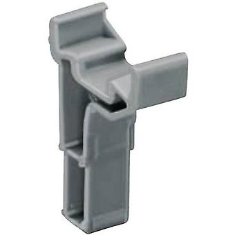 WAGO 2002-161 Labelling Adapter Compatible with (details): Bridge opening of the series 2002