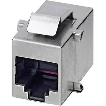Phoenix Contact 1689064 RJ45 Adapter, build-in Silver