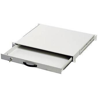 Digitus DN-19 sleutel-1U 19 server rack kabinet Slider 1 U grijs-wit (RAL 7035)