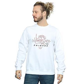 Friends Men's Love Laughter Sweatshirt