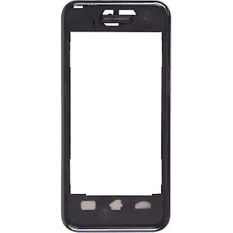 OEM Samsung SPH-M800 Instinct Front Case Assembly - Black