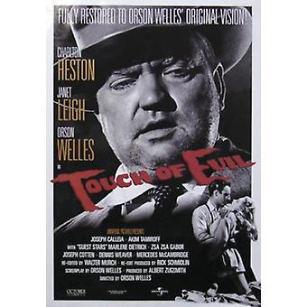 Touch of evil poster Orson Welles