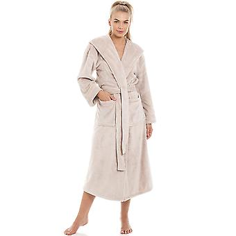 Camille Super Soft Fleece Mink Dressing Gown