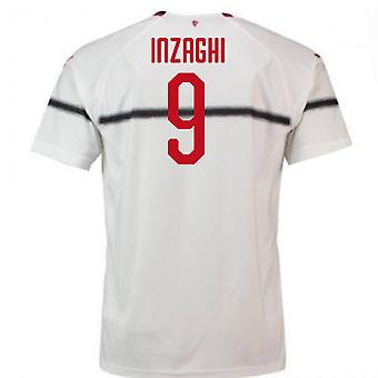 2018-2019 AC Milaan Puma Away Football Shirt (Inzaghi 9)