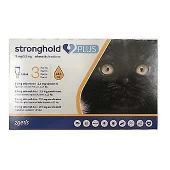 Stronghold Plus for Small Cats less than 5.5 lbs (2.5 kg.) - 3 pack