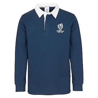 Rugby World Cup 2019 barnas langermet klassiske Rugby skjorte