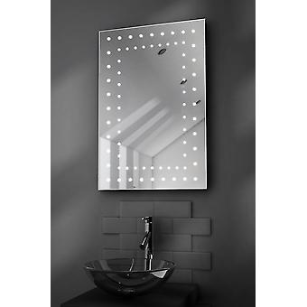 Orion LED Bathroom Mirror With Demister Pad & Sensor k43