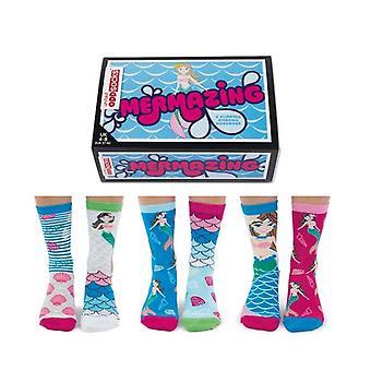 United Oddsocks Mermaid Ladies Novelty Socks