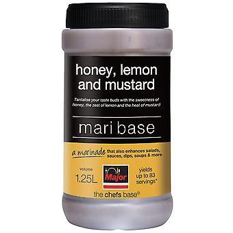 Major Gluten freie Honig, Zitronensaft und Senf Mari Basis