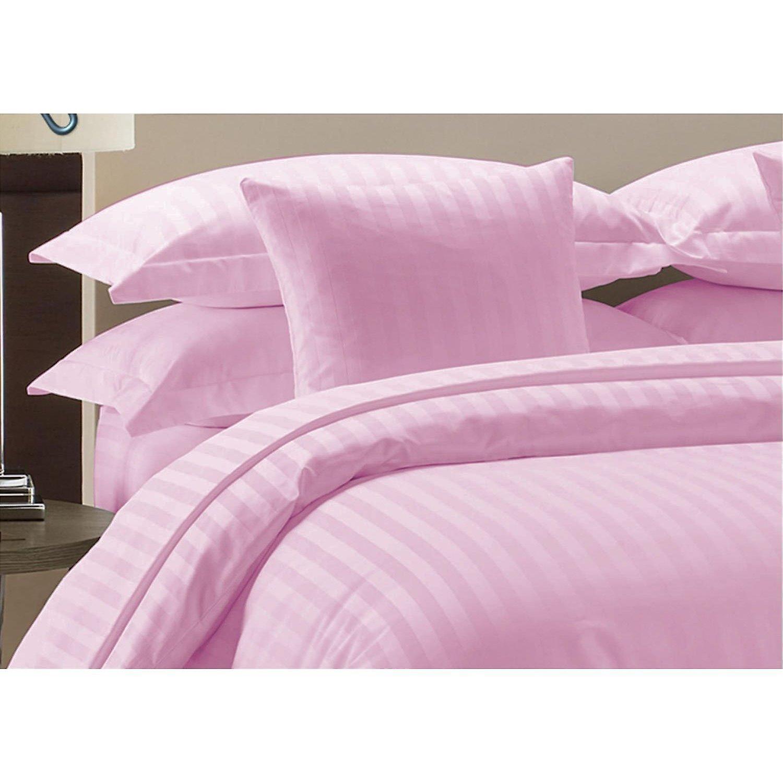 Tc Stripe 100Cotton Bed pink 1000 Set Sheet gy7Y6mIfvb