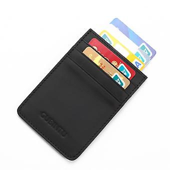 GUBINTU Karte Inhaber RFID-Blocker mit Geld-Clip-schwarz