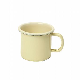 Vintage Home Enamel Espresso Mug 170ml Buttermilk