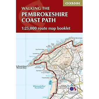Pembrokeshire Coast Path Map Booklet - 1 -25 -000 OS Route Mapping by D