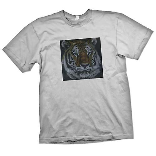 Mens t-shirt - Tiger - fauna selvatica