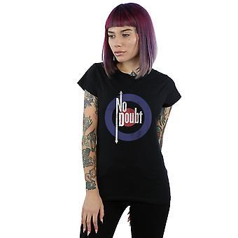 No Doubt Women's Quadro Distressed T-Shirt