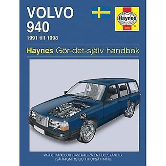 Volvo 940 (Swedish) Service and Repair Manual (Haynes Service and Repair Manuals)