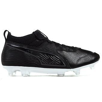 الكسوف جي/AG رجالي أرضية صلبة لكرة القدم الحذاء الأسود 19.3 واحدة من طراز بوما