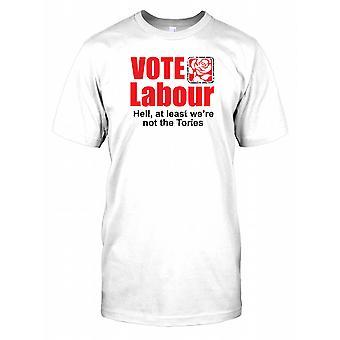 Trabajo de votar - por lo menos no eran la Tories niños T camisa