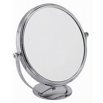 Famego 5x Magnification Wide Chrome Mirror