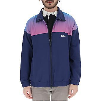 Drôle De Monsieur Blue Nylon Outerwear Jacket
