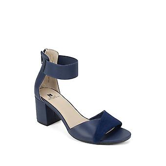 White Mountain Womens Evie Fabric Open Toe Special Occasion Ankle Strap Sandals