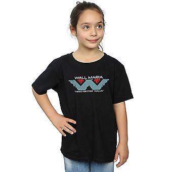 Ntesign Mädchen Wand Corp T-Shirt