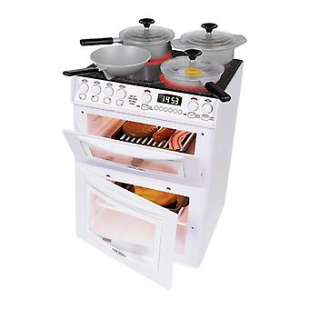Casdon Little Cook Electronic Cooker With Hob,Grill and Oven, Cooking