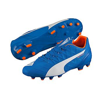Puma evoSPEED 4.4 Firm Ground Football Boots (Electric Blue) - Kids