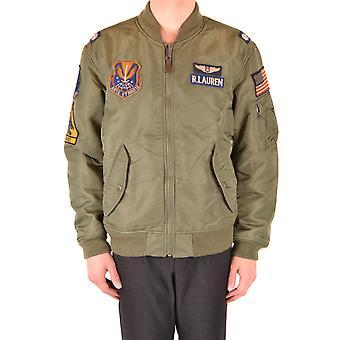 Ralph Lauren Green Nylon Outerwear Jacket