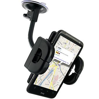 Car Holder for Smartphone - Suction Cup + Ventilation Grille
